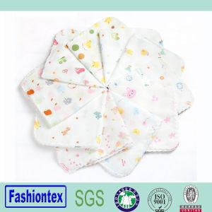 Wholesales Baby Cotton Burp Cloth Face Towel 100% Cotton Handkerchiefs pictures & photos