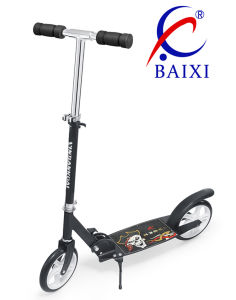 2 Wheel Super Kick Scooter with Iron Stand (BX-2M001-L) pictures & photos