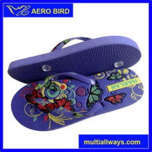 Wholesale PE Slippers for Ladies (14G016) pictures & photos