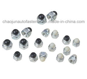 High Quality Carbon Steel Nylon Cap Nut