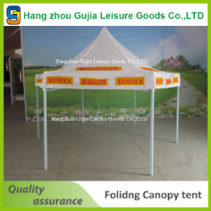 Deluxe Strong Outdoor Hex Shape Commercial Promotion Tent
