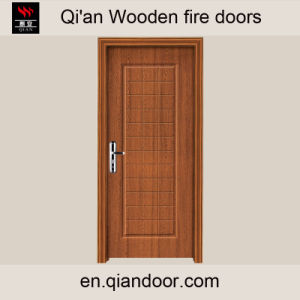Veneer Heat-Insulated Interior Wooden Door pictures & photos