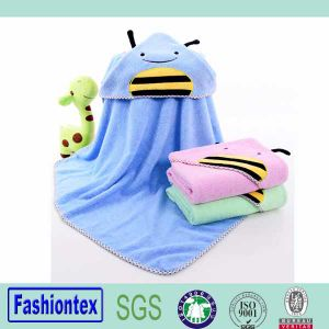 Chinese Maunfacturer Infant Blanket Kids Batn Towel Child Hooded Towel pictures & photos