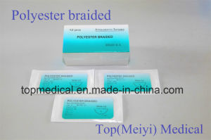 Polyester Braided Suture pictures & photos