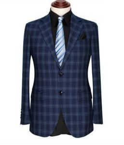 British Style Plus-Size Man Checked Dress Suit pictures & photos