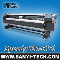 New Launched Solvent Printer, High Speed Printer Sinocolor Km-512I 240 Sqm /H pictures & photos