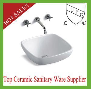 Square Bathroom Vanity Ceramic Wash Sink (S1007) pictures & photos