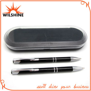 Popular Aluminum Pen Set for Promotional Gift (BP0113BK) pictures & photos