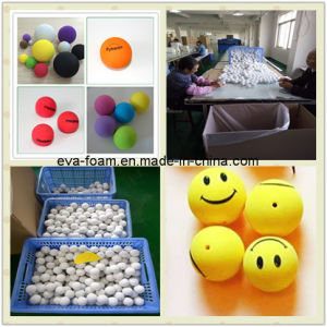 Silk-Screen Printing EVA Foam Ball Heat Transfer Printing EVA Foam Ball EVA Logo Printing Foam Ball pictures & photos