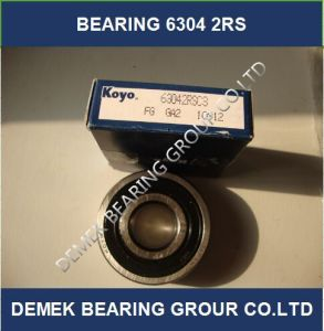 High Speed Koyo Deep Groove Ball Bearing 6304 2RS Made in Japan pictures & photos