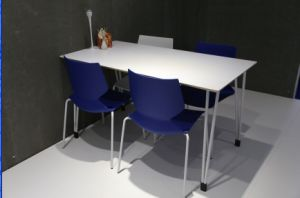 Europe Design 4 Seater Dining Table and Chair pictures & photos