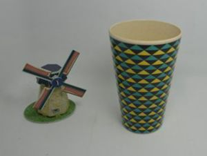 Eco Bamboo Fiber Cup with Print (BC-CP1006) pictures & photos