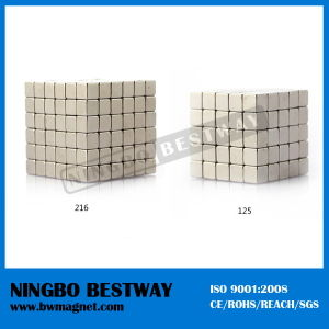 High Grade Block Rare Earth Magnet for Magnetic Pump pictures & photos