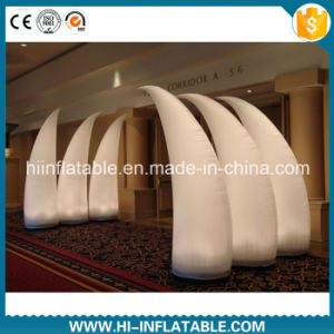 Amazing Wedding Event Decoration Inflatable Entrance Pillars with LED Light