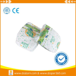 Colorful Baby Diapers with Magic Tapes in Quanzhou pictures & photos