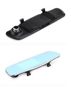 Car Rearview Mirror DVR Dash Camera WiFi Dual Lens