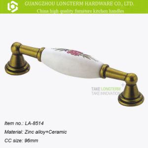 Oriental Classical Fancy Zamak and Ceramic Furniture Pull Handle pictures & photos