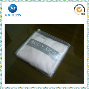 Non-Toxic Clear Plastic Zipper PVC Bag (JP-plastic024) pictures & photos