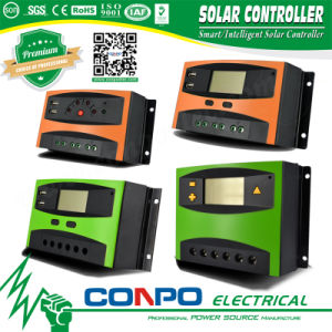 Tk-10A~60A, 12V/24V or 48V, LED/LCD, PWM Solar Controller pictures & photos