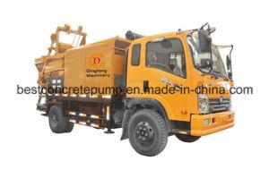 Diesel & Electric Truck Mounted Concrete Mixer Pump