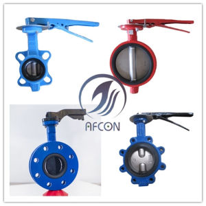 Buttefly Valve with Full EPDM Rubber Lined pictures & photos