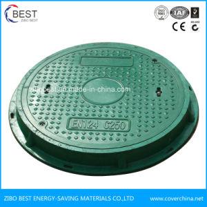 D400 En124 SMC Composite Drainage Round Manhole Cover pictures & photos