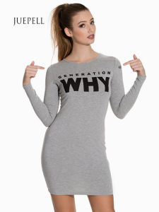Bodycon Knit T Shirt Women Dress pictures & photos