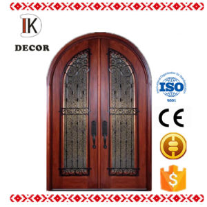 Exterior Position and Finished Surface Finishing Double Entry Door
