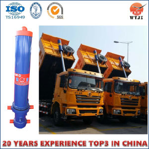 Telescopic Hydraulic Cylinder for Truck Body Hydraulic Cylinder with Outer Cover pictures & photos
