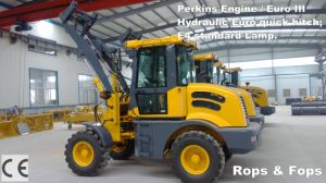 New Ce Certificated Agricultural Mini Wheel Loader for Sale pictures & photos