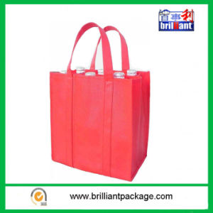 Non Woven or Other Customized Material of Wine Bottle Bags pictures & photos