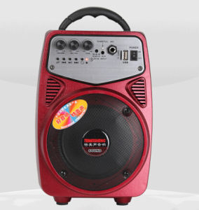 Many Color Small Portable Mini Speaker with SD/FM/USB Q2 pictures & photos