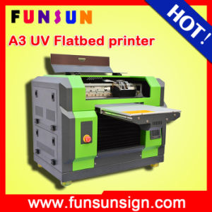 A3 A4 Printing Size Multi-Fonction UV Lamp Flatbed Printer with Dx5 Head for Pen Golf Ball Glass Phone Case Wooden pictures & photos