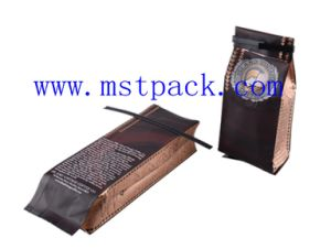 Coffee / Coffee Beans Packaging Bag with Tin Tie pictures & photos