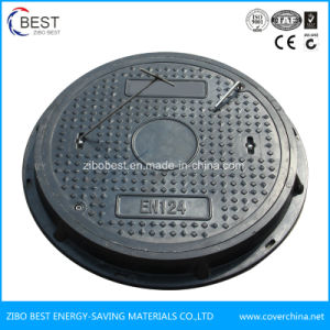 En124 Fiberglass / Plastic/Resin Manhole Cover pictures & photos