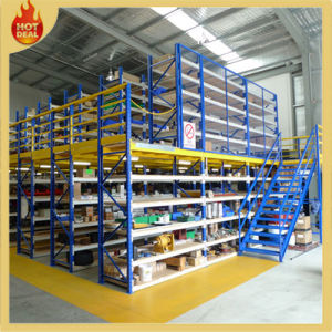 Steel Warehouse Multi-Level Mezzanine Floor Rack Structure pictures & photos