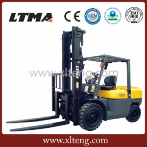 Ltma New 5 Ton Diesel Forklift Truck for Sale pictures & photos