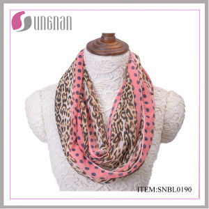 2016 Spring Leopard Sexy Women Infinity Scarf (SNBL0190) pictures & photos