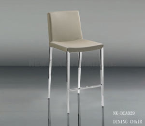 Modern Bar Chair Price New Elegant Grey Steel Chair (NK-DCA029)