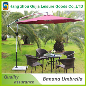Outdoor Beach 10FT Aluminum Cantilever Garden Umbrella pictures & photos