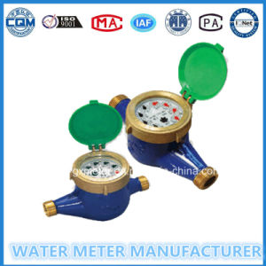 Brass Multiple Type Dry Dial Water Meter (Dn15-25mm) pictures & photos