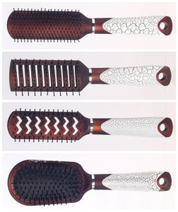 Plastic Cushion Brush Hair Brush Set New Design for Salon pictures & photos