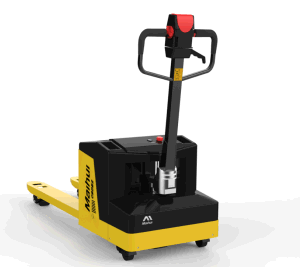 Battery Powered 2 Ton Electric Pallet Truck pictures & photos