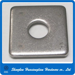 Galvanized Metal Stel Square Rectangular Lock Washer with High Quality pictures & photos
