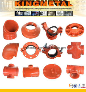 Firefighting Water System Grooved Pipe Accessories/Fittings FM UL Approved pictures & photos