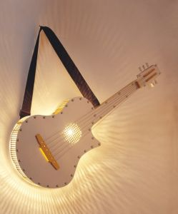 Hot Sale Guitar Wall Lamp (MB5068-2-220V) pictures & photos