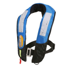 80n and 150n Water Sports Life Jacket Adult Type and Children Type Automatic Inflatable Lifevest for Hot Sale pictures & photos