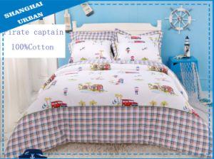 3 Pieces Cotton Bedding Duvet with Cover (Set) pictures & photos