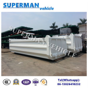 U Shape Tipping Trailer′s Body Dumper Box pictures & photos