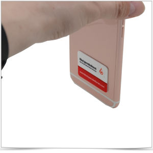 Microfiber Mobile Phone Screen Cleaner Microfiber Sticker pictures & photos